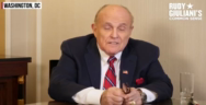 Thumbnail for Rudy Guiliani's video about how extreme censorship has become was immediately censored and removed by Youtube.