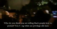 Thumbnail for Did one of them just yell asking for peace is white supremacy... Wtf?