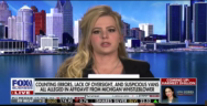 Thumbnail for BREAKING: Dominion Voting Systems whistleblower Melissa Carone on Lou Dobbs briefly discussing election fraud in Detroit at TCF Center in Wayne County (Witnesses of the election fraud are coming out of the woodworks.