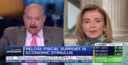 Thumbnail for CNBC host calls Pigloser 'Crazy Nancy' to her face