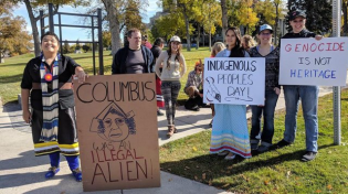 Thumbnail for Smearing Columbus: No Holidays for White Men