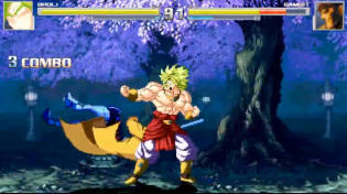 Thumbnail for Broly (Legendary Super Saiyan) vs Gambit - MUGEN (Gameplay) S2 • E29