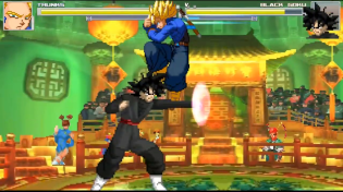 Thumbnail for Future Trunks (Super Saiyan 1) vs Goku Black - MUGEN (Gameplay) S2 • E32