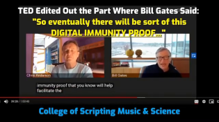 Thumbnail for Gates and his minions insist the billionaire never said we'd need digital vaccine passports. But in a June 2020 TED Talk, Gates said exactly that. Someone edited out the statement, but here's the original.