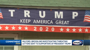 Thumbnail for Trump supporters in New Hampshire receive letter threatening an arson attack on their home if president refuses to concede the election