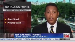 "Thumbnail for Video From Don Lemon When He Wasn't ""Woke"": Black People Leave Trash Everywhere, But White People Never Litter"
