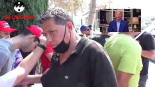 "Thumbnail for OWNED! Biden Supporter Insists Trump is Racist - But Watch What Happens When Trump Supporters Whip Out Video of Biden Saying ""You Ain't Black"""