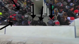 Thumbnail for More Video Footage Confirms Antifa Damaging the Capitol Building