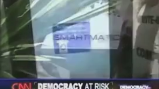 Thumbnail for CNN has ordered Twatter and Nosebook to remove this video: CNN reporting on Smartmatic in 2006