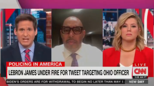 Thumbnail for  WHOA: Analyst tells CNN talking heads officer 'did his job' in the Ohio police shooting and LOL, the look on HER face.