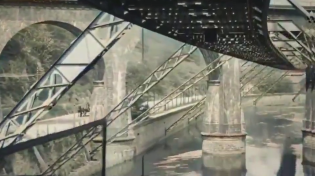Thumbnail for 1902 film of the Wuppertal Suspended Railway in Germany - colorized and upscaled to 4K