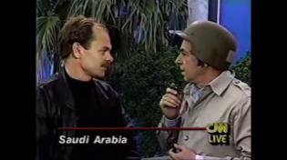 Thumbnail for CNN is just Paid Actors - CNN does Gulf War coverage
