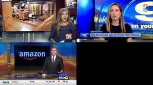 "Thumbnail for 11 ""Local"" News Channels Push Identical Amazon Script"