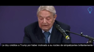 "Thumbnail for George Soros, one of the Visible Heads of the Rothschild Mafia, considered Trump at the time a ""serious threat to the world"" and warned that by 2020 this threat should be ""eliminated"" ...The devils are dancing again..."