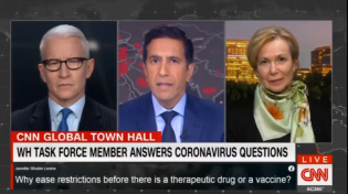 Thumbnail for Freudian slip by Dr. Birx during CNN interview - Gates behind contact tracing push